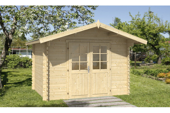 Gartenhaus NORMANDIE 1 34mm - 6,9m²